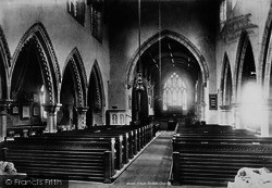 Church Interior 1896, Bedale