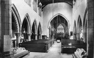 Bedale, Church Interior 1908