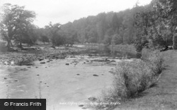 Bedale, Clifton Castle, On The River 1900