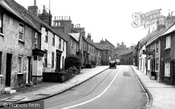 Bedale, Emgate c.1960