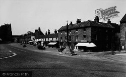 Bedale, Market Cross c.1955
