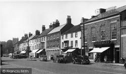 Bedale, Market Cross c.1955