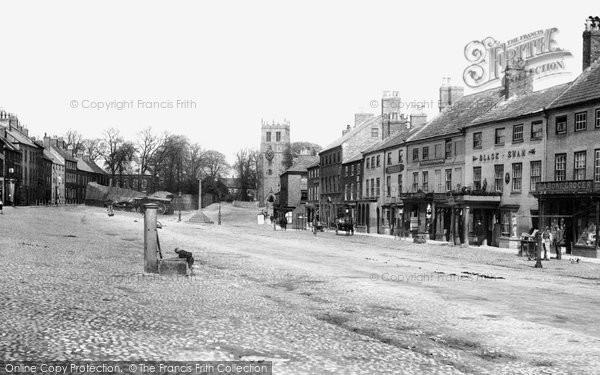 Bedale, Market Place 1908