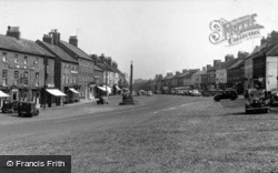 Market Place And Cross c.1955, Bedale