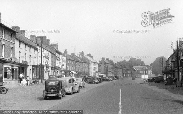 Bedale, Market Place c.1950