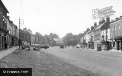 Bedale, Market Place c.1955