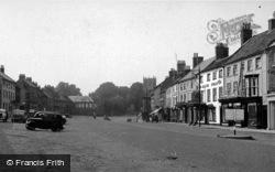 Market Place c.1955, Bedale