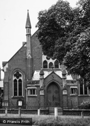 Bedale, Methodist Church, Wycar c.1955