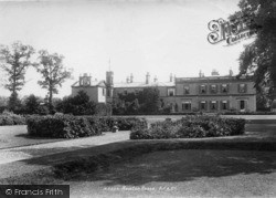 Bedale, Newton House 1900