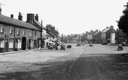 Bedale, North End And Market Cross c.1955
