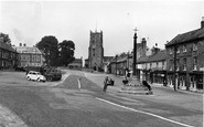Bedale, Northend c.1955
