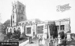 Bedale, St Gregory's Church 1896