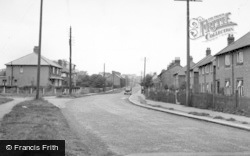Bedale, The Approach c.1955
