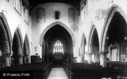 Bedale, The Parish Church c.1955