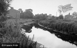 The River And Bridge c.1955, Bedale