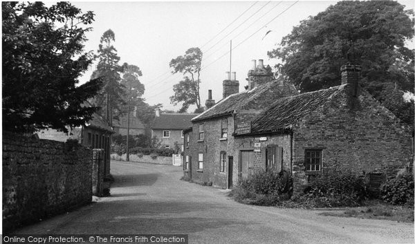 Bedale, The Wynd c.1950