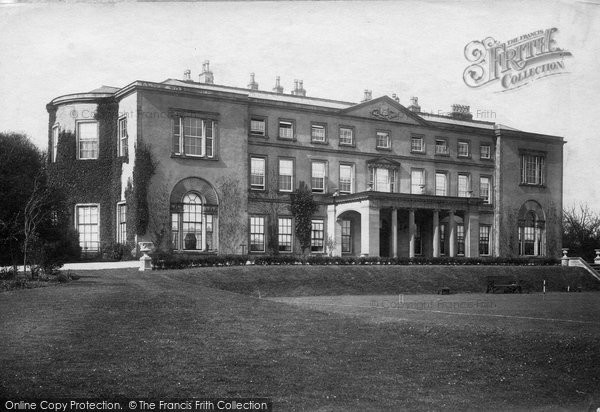 Bedale, Thorp Perrow Hall 1908