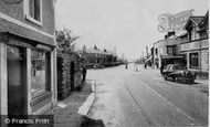 Beddau, The Post Office And Cross Roads c.1955
