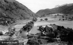 Aberglaslyn From Afon c.1960, Beddgelert