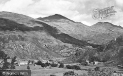 Beddgelert, And Snowdon 1931