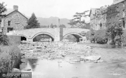Beddgelert, Bridge c.1900