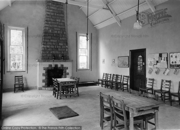 Beddgelert, Common Room, Forest Park  c.1955