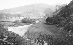 Beddgelert, From The Pass 1889