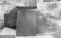 Beddgelert, Gelert's Grave 1931