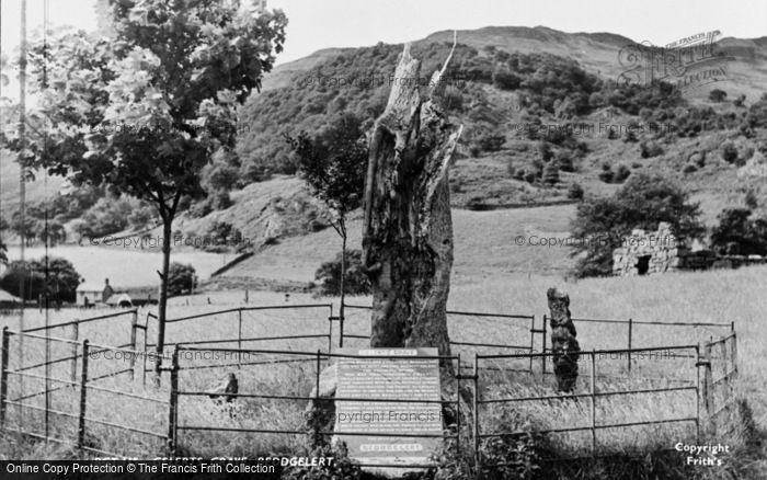 Photo of Beddgelert, Gelert's Grave c.1955