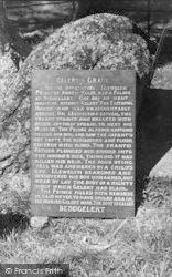 Beddgelert, Gelert's Tomb c.1950