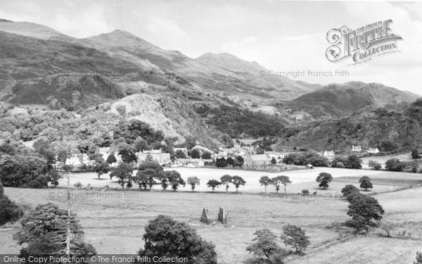 Photo of Beddgelert, General View c.1960