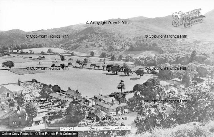 Photo of Beddgelert, General View c.1960