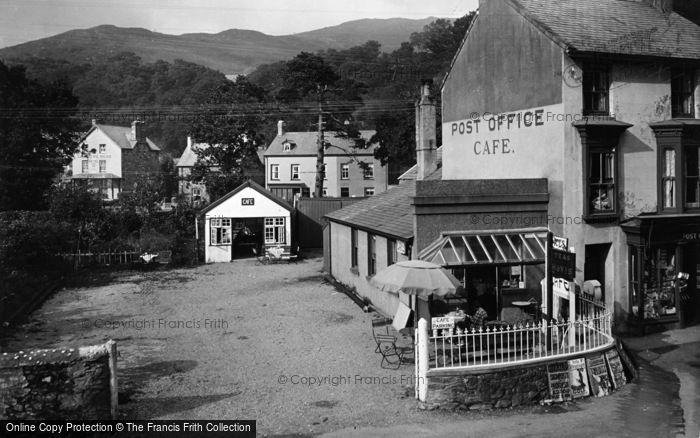 Photo of Beddgelert, Glandwr Cafe 1936