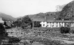 Beddgelert, Gwynant River c.1960