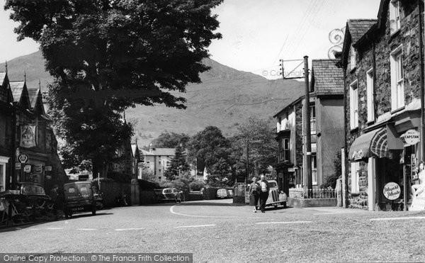 Beddgelert, High Street c.1960