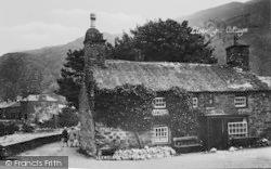 Beddgelert, Llewelyn's Cottage c.1935