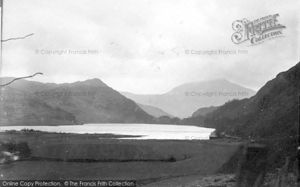 Photo of Beddgelert, Llyn Dinas c.1935