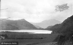 Beddgelert, Llyn Dinas c.1935
