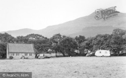Beddgelert, Moel Hebog From Camping Ground, Forest Park c.1955