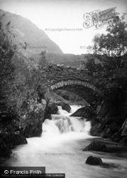 Beddgelert, Old Bridge And Falls c.1955