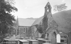 Beddgelert, Parish Church c.1930