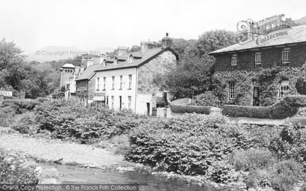 Photo of Beddgelert, River Colwyn c.1960