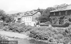 Beddgelert, River Colwyn c.1960