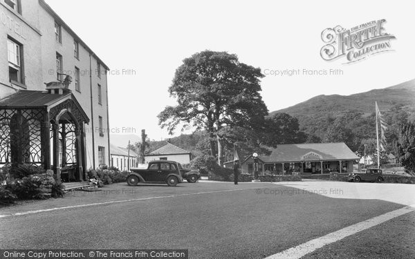 Beddgelert, Royal Goat Hotel And Boomerang Cafe c.1950