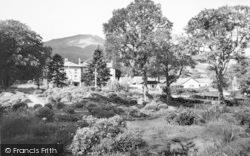 Beddgelert, Royal Goat Hotel c.1960