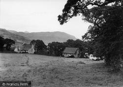 Beddgelert, Snowdonia Camping Ground, Forest Park  c.1955