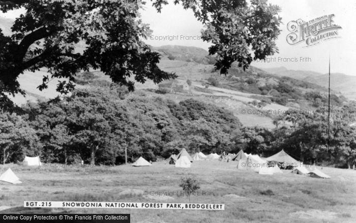 Photo of Beddgelert, Snowdonia National Forest Park c.1960