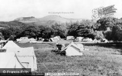 Beddgelert, Snowdonia National Forest Park Camping Site c.1960