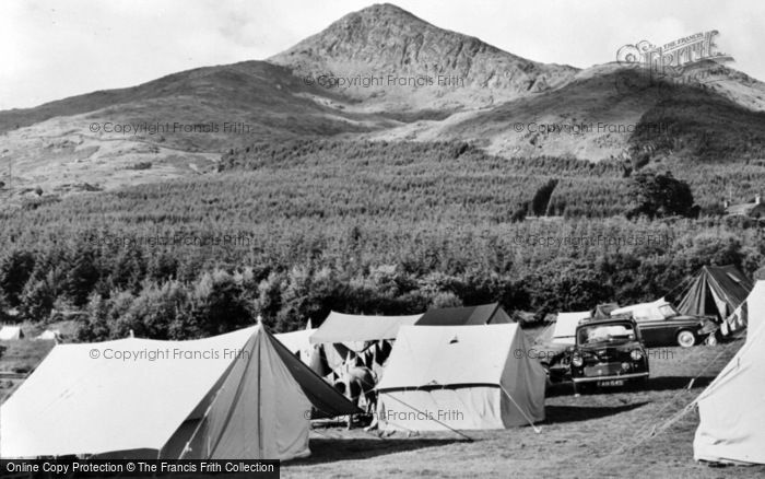 Photo of Beddgelert, Snowdonia National Forest Park Camping Site c.1960