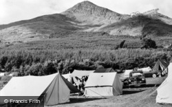 Beddgelert, Snowdonia National Forest Park Camping Site c.1960